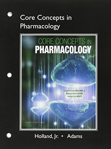 9780133804492: Student Workbook and Resource Guide for Core Concepts in Pharmacology