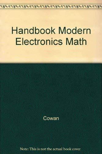 9780133804522: Handbook Modern Electronics Math