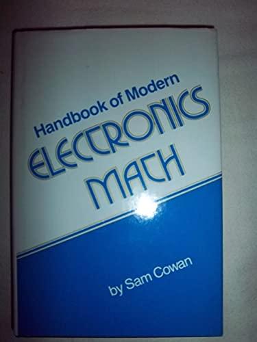 9780133804850: Handbook of Modern Electronics Mathematics