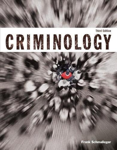 9780133805628: Criminology