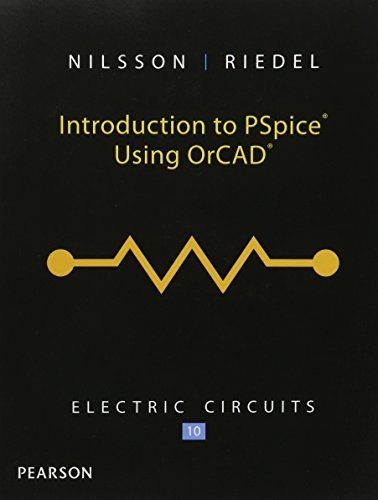 9780133806670: Introduction to PSpice for Electric Circuits