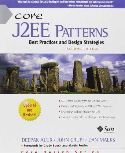 9780133807462: Core J2ee Patterns (Paperback): Best Practices and Design Strategies