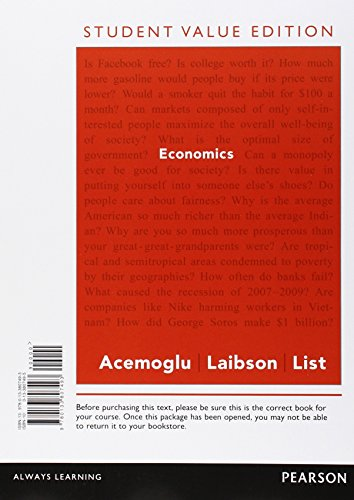 9780133807493: Economics, Student Value Edition
