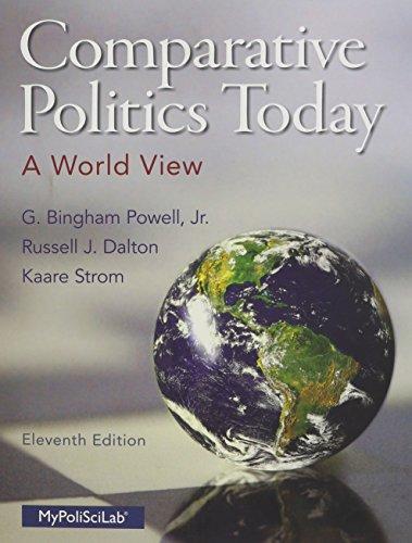 9780133807721: Comparative Politics Today: A World View (11th Edition)