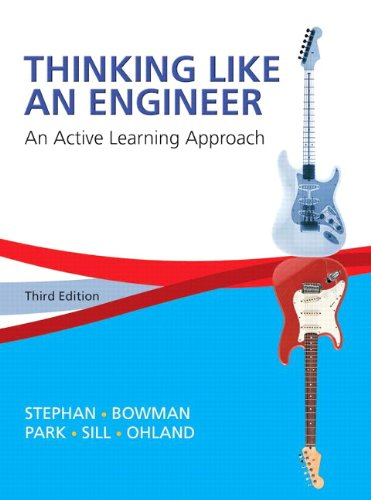 9780133808483: Thinking Like an Engineer: An Active Learning Approach Plus MyLab Engineering -- Access Card Package (3rd Edition)