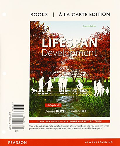 Lifespan Development, Books a la Carte plus NEW MyPsychLab with eText -- Access Card Package (7th ...