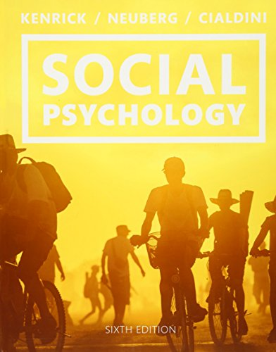 9780133810189: Social Psychology: Goals in Interaction (6th Edition)