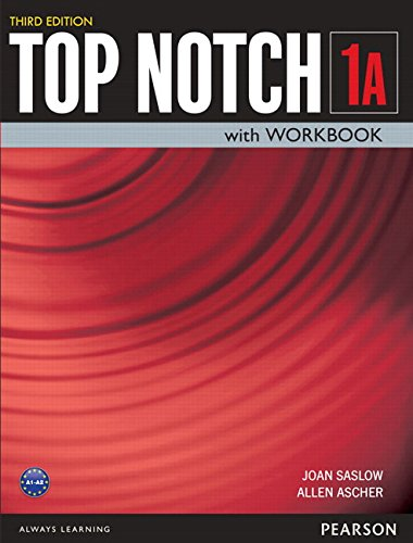 9780133810561: A Top Notch 1 Student Book/Workbook Split