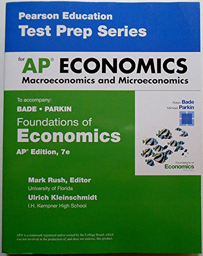 9780133812718: FOUNDATIONS OF ECONOMICS-TEST PREP.WKBK