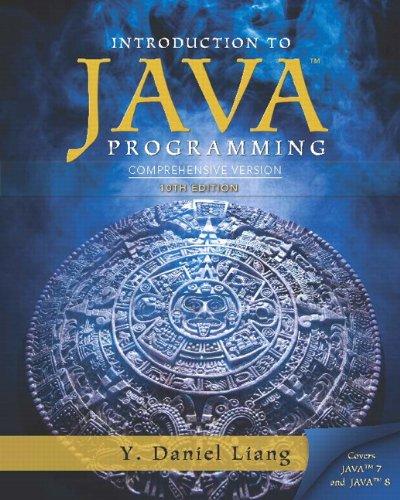 Introduction to Java Programming, Comprehensive Version MyProgrammingLab