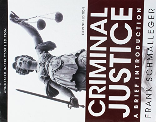 9780133814446: Criminal Justice: A Brief Introduction, 11/E