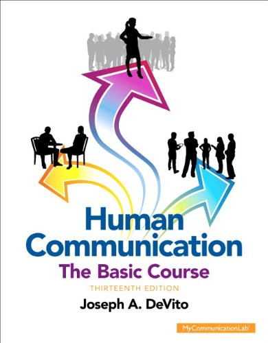 9780133814972: Human Communication: The Basic Course Plus NEW MyCommunicationLab with Pearson eText -- Access Card Package (13th Edition)