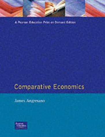 9780133816334: Comparative Economics