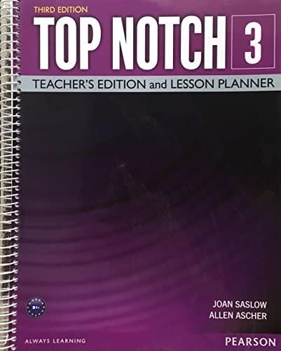 top notch 3 teachers book