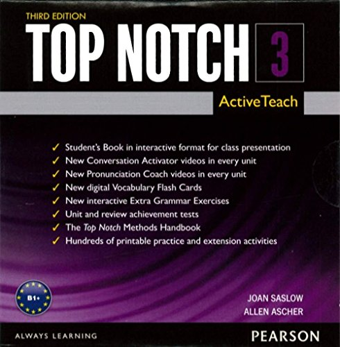 9780133819199: Top Notch 3 ActiveTeach Interactive Whiteboard Tool
