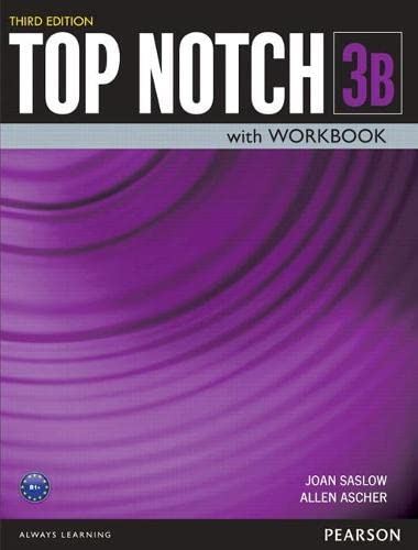 9780133819236: Top Notch 3 Student Book/Workbook Split B