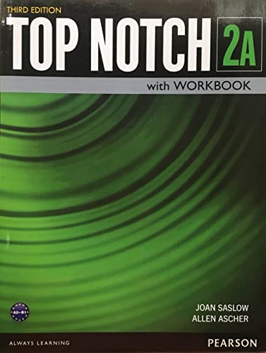 9780133819274: Top Notch 2 Student Book/Workbook Split A (3rd Edition)