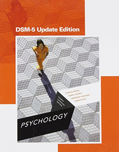 9780133821918: Psychology, Fourth Canadian Edition, DSM-5 Update Edition (4th Edition)