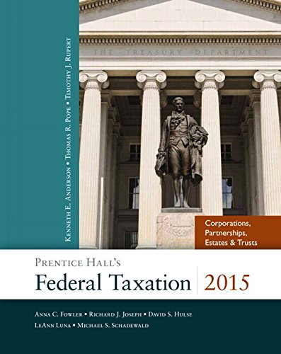 9780133822144: Prentice Hall's Federal Taxation 2015 Corporations, Partnerships, Estates & Trusts Plus New MyAccountingLab with Pearson eText - Access Card Package