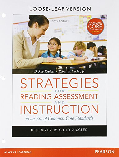 9780133824421: Strategies for Reading Assessment and Instruction in an Era of Common Core Standards: Helping Every Child Succeed, Pearson eText -- Access Card