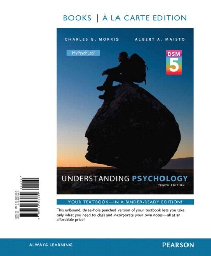 9780133825183: Understanding Psychology with Dsm5 Update, Books a la Carte Edition Plus Mypsychlab with Pearson Etext