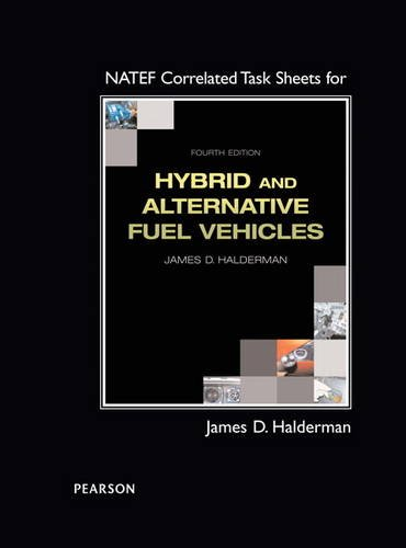 9780133825725: NATEF Correlated Task Sheets for Hybrid and Alternative Fuel Vehicles