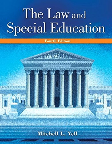 9780133827019: The Law and Special Education (Loose-leaf) 4th Edition By Mitchell L. Yell