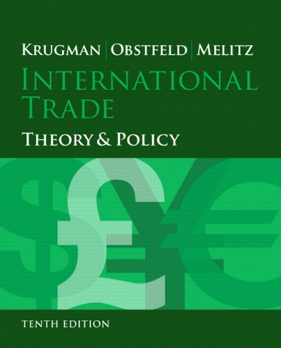 9780133827040: International Trade: Theory and Policy