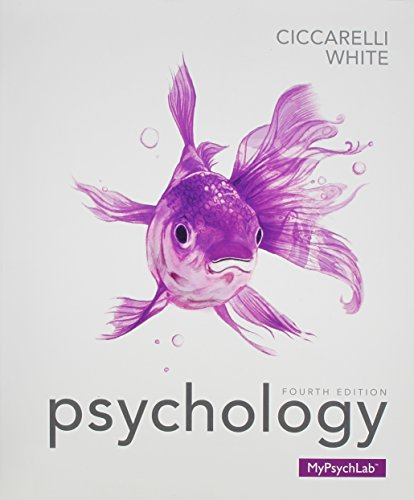 Psychology (paperback) Plus NEW MyLab Psychology with: Ciccarelli, Saundra K.;
