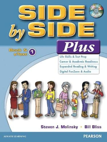 9780133828740: Side by Side Plus 1 Book & eText with CD