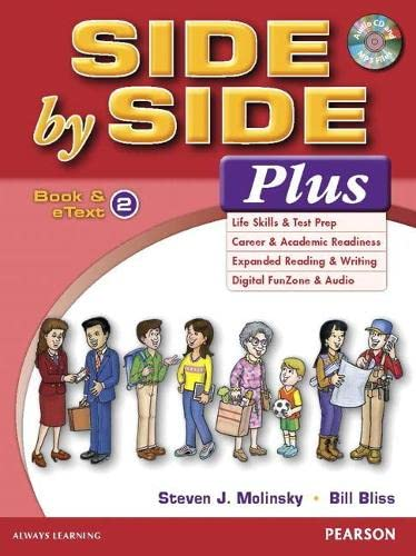 9780133828986: Side by Side Plus 2 Book & eText with CD 1st Edition