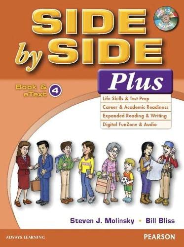 9780133829051: Side by Side Plus 4 Book & eText with CD