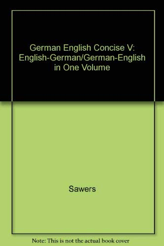 9780133829952: Harrap's Concise English German Dictionary (English and German Edition)