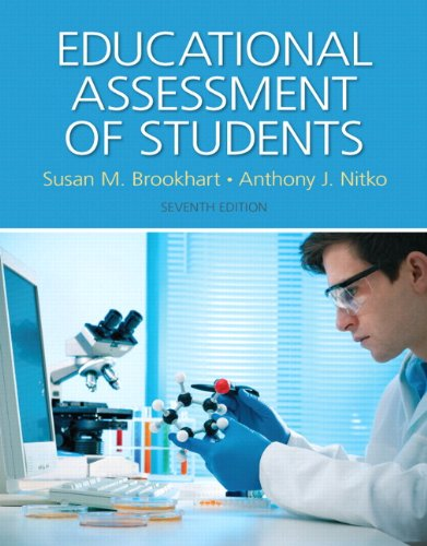 9780133830262: Educational Assessment of Students with Pearson eText Access Card Package