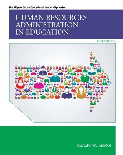 9780133830880: Human Resources Administration in Education with Enhanced Pearson eText -- Access Card Package (10th Edition) (Allyn & Bacon Educational Leadership)