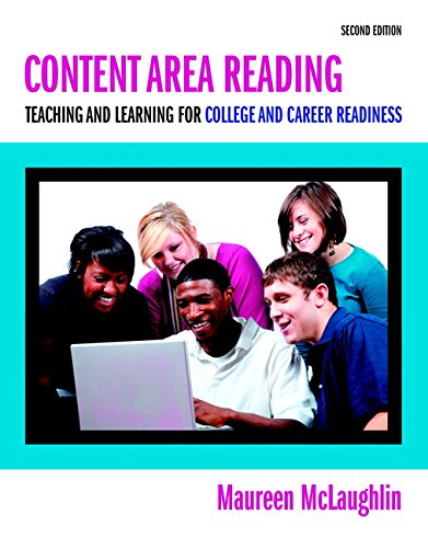 Content Area Reading: Teaching and Learning for: McLaughlin, Maureen