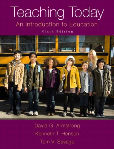 9780133830996: Teaching Today: An Introduction to Education, Enhanced Pearson eText with Loose-Leaf Version -- Access Card Package (9th Edition)