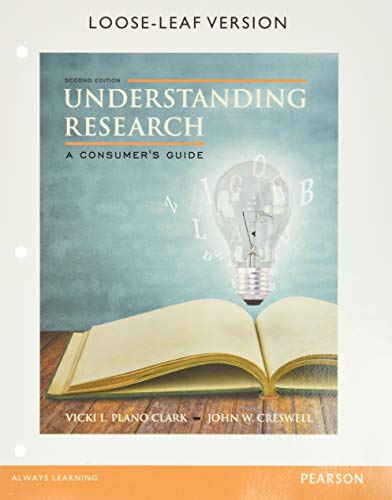 9780133831627: Understanding Research: A Consumer's Guide, Enhanced Pearson eText with Loose-Leaf Version -- Access Card Package (2nd Edition)