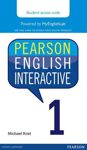 9780133832716: Pearson English Interactive 1 (Access Code Card)