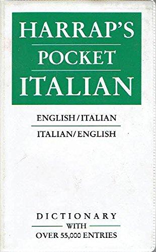 9780133833249: Harrap'S Pocket Italian and English Dictionary: En Glish-Ital