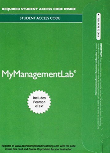 9780133836998: 2014 MyLab Management with Pearson eText -- Access Card -- for International Business: The New Realities