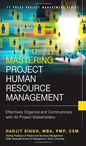 Mastering Project Human Resource Management: Effectively Organize: Singh, Harjit