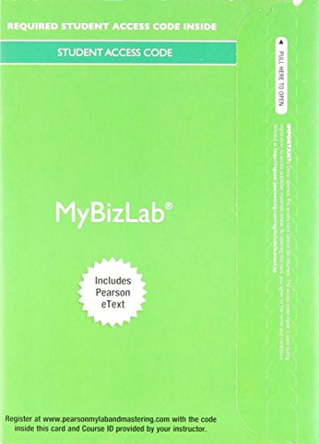 9780133839531: 2014 MyLab Intro to Business with Pearson eText -- Access Card -- for Business: A Practical Introduction