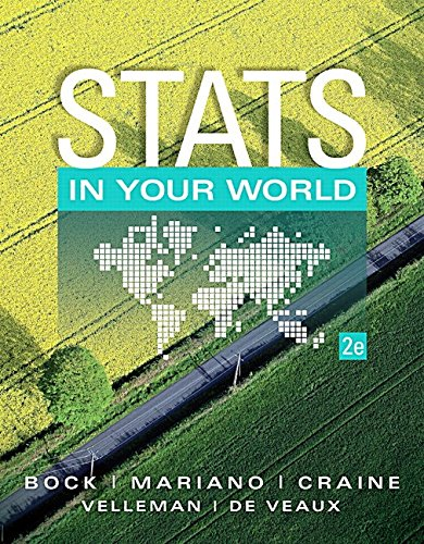 9780133839722: Stats in Your World NASTA 2nd Edition