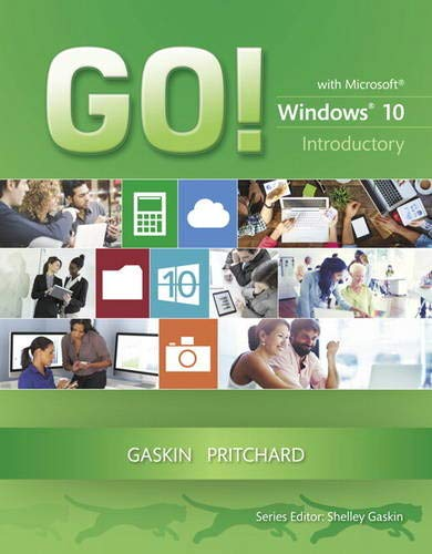 9780133839821: GO! with Windows 10 Introductory (GO! for Office 2013)