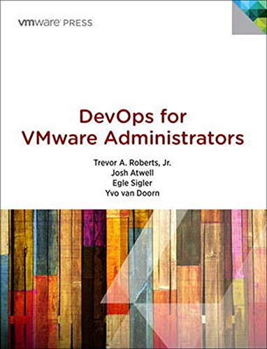 9780133846478: DevOps for VMware Administrators (Vmware Press Technology)