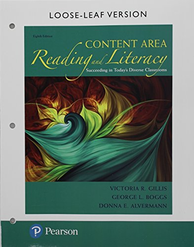 Content Area Reading and Literacy Format: Unbound with Access Card
