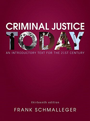 9780133849257: MyCJLab with Pearson eText -- Access Card -- for Criminal Justice Today: An Introductory Text for the 21st Century
