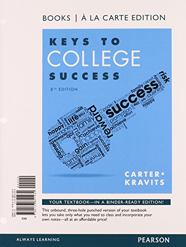 cornerstones for community college success chapter 7 Cornerstones for college success, 7th edition cornerstones for college success is known for its' concrete and practical strategies that students can apply to all college classes, the world of work, and life in general, and addresses the why of learning and the power of positive change.