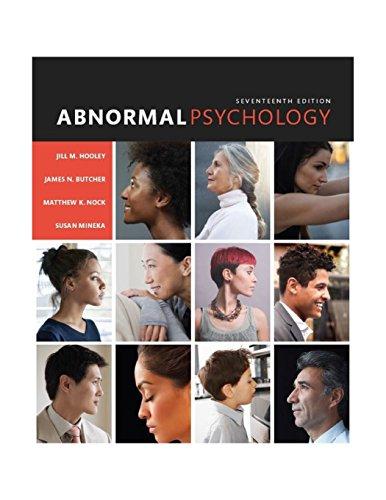 9780133852059: Abnormal Psychology (17th Edition)